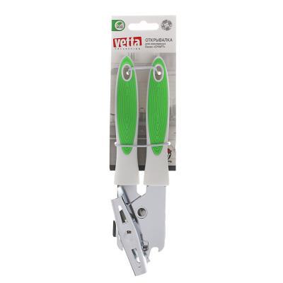 884-335 VETTA Открывалка для консервных банок Смарт, 21х4,5х3,7 см, металл, пластик, 2 цв.