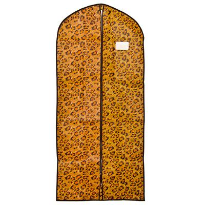 457-338 VETTA Чехол для одежды с рисунком леопард, спанбонд, 60x137см