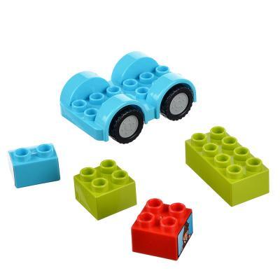 """265-349 Конструктор пластик """"Машинка"""" с крупными деталями, 6 дет., 3+, 188-167"""
