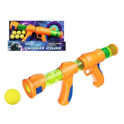 261-424 Ружье 34см, 10 мягких шариков, пластик, 40х7х23см