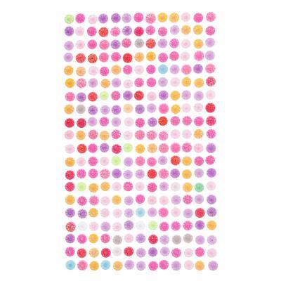 503-502 Наклейка Блеск, ПВХ, 22,5х10см, 7-8 цветов, арт.19-07-09