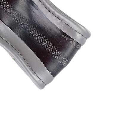 708-075 NEW GALAXY Оплетка руля гладкая кожа, гладкая, серый, разм. (М)