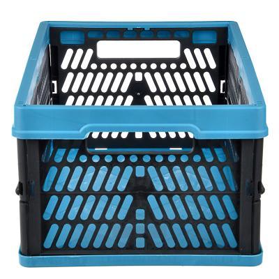 406-107 Ящик складной с ручками, пластик, 10л, 34х23х16см, В1272