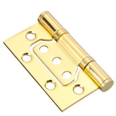 620-188 KORAL Петля накладная (БЕЗ ВРЕЗКИ) 3x2,5x2,5 pb, золото