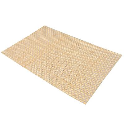 890-308 Салфетка сервировочная, крупноплетеный ПВХ, 30x45см, серые оттенки, 3 цвета