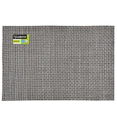 890-308 Салфетка сервировочная, крупноплетеный ПВХ, 30x45см, 3 цвета