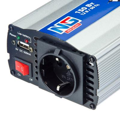 938-002 NEW GALAXY Инвертор питания 12V-220В, 150Вт, 12В