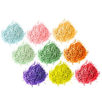 597-095 Наполнитель декоративный, бумага, 20гр., 10 цветов, арт.0308-2