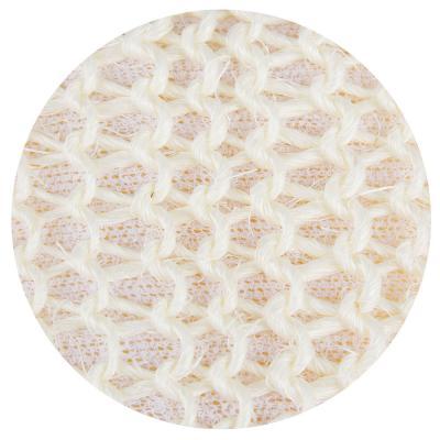 361-077 Мочалка банная, сизаль, хлопок, 8х68см, 1 цвет
