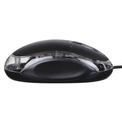 916-021 Компьютерная мышь проводная эконом 9,7x5,5x3,3 см., провод 115см