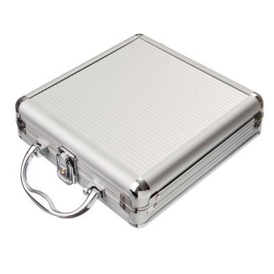 538-055 Набор для покера в подарочном кейсе, 21х21х7см, металл, пластик