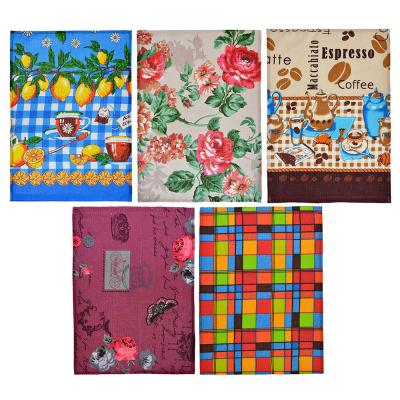 434-012 Полотенце кухонное, вафельное, хлопок, 35х50см