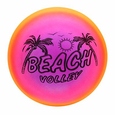 128-008 Мяч игровой волейбольный, радужный, 23 см, ПВХ