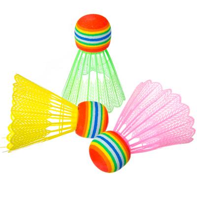 136-013 Набор детских воланов, 3шт, ПВХ, цветные, в пакете, 2114-3