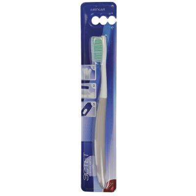 982-012 Зубная щетка Эстет, пластик, резина,  мягкая жесткость, индекс 3, степень G<6