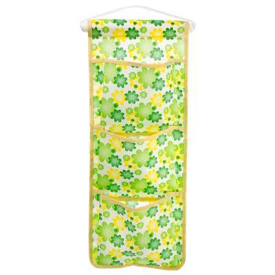 457-347 Навеска для мелочей, 3 кармана, полиэстер, 4 цвета
