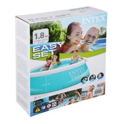 109-090 Бассейн серии INTEX Easy Set, 183х51 см, от 3 лет, 28101