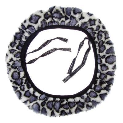 """708-077 Оплетка меховая теплая из синт.шерсти """"микровул"""", размер М, цвет черный"""