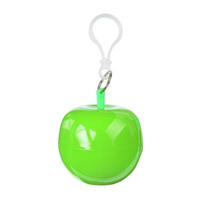 188-062 Дождевик-плащ, 120x90см, полиэтилен, в футляре яблочко, FS-002   12х7х7