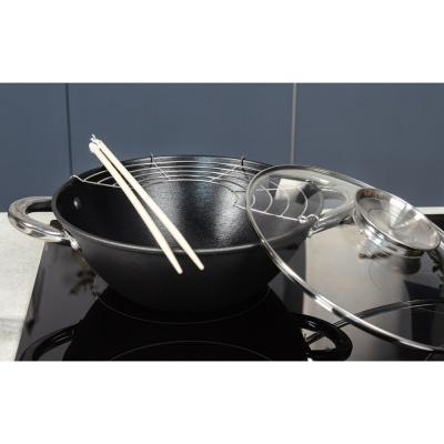 808-031 Казан чугунный 4,4 л SATOSHI, антипригарное покрытие, кухонные аксессуары