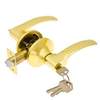 617-216 LARS Замок 8026-01 золото c ключом