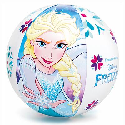 109-113 Надувной мяч INTEX 58021 Холодное сердце d. 51 см