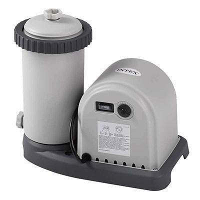 109-150 INTEX Фильтр-насос с картриджами 1500 галлонов(220-240 вольт), 1500 гал/час, 28636