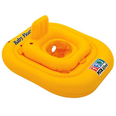 109-173 Круг плавательный, 79 см, возраст от 1 до 2 лет, INTEX Delux, 56587EU