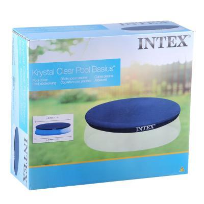 109-185 Тент INTEX 28026 EASY SET, размер: 376х30см