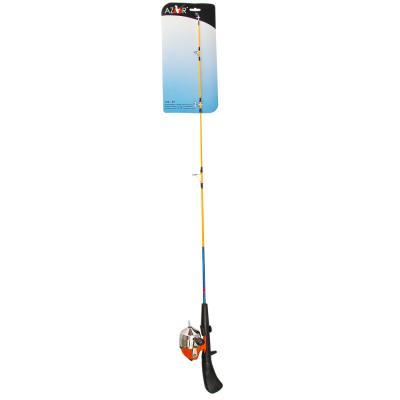 149-107 AZOR Набор: Удочка начинающего рыбака100см, 3-5гр, оснащенная (закр.катушка 10, 3.0-1, леска), солид