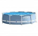 109-216 INTEX Бассейн каркасный Призм, 366х76см, 28710
