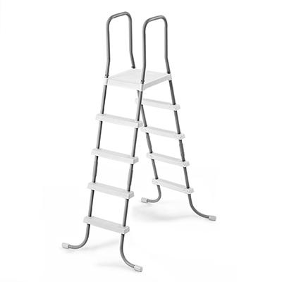 """109-236 INTEX Лестница для бассейна со съемными ступеньками, 132см, (к бассейнам с h 42"""" и 36""""), 28059"""