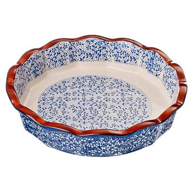 826-231 Форма для запекания и сервировки круглая, керамика, 22х22х4,5 см, MILLIMI