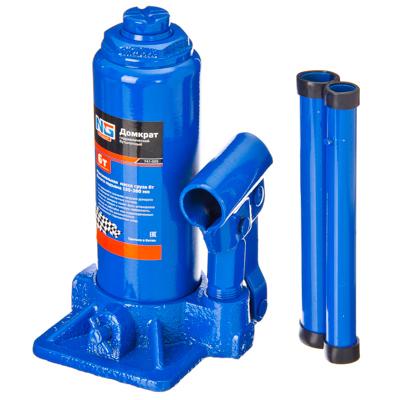 741-005 NEW GALAXY Домкрат гидравлический бутылочный, 6т, h подъема 195–380 мм