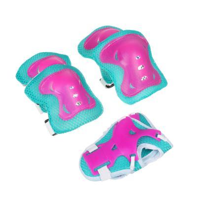 129-159 Набор для защиты: колени, локти, запястья, однотонный, размер S, пластик, SILAPRO