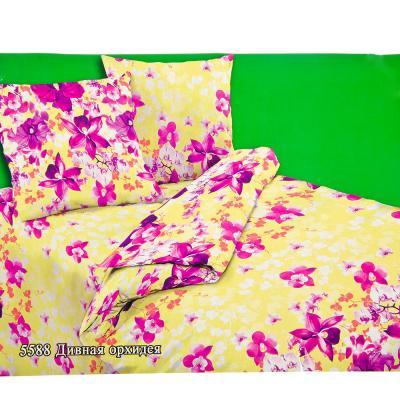 """421-130 Комплект постельного белья 1,5 спальный, бязь, """"Цветково"""""""