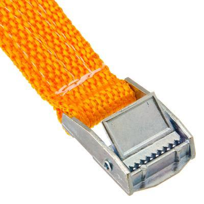 746-021 NEW GALAXY Ремень крепления груза с фиксатором, 2,5м, шир.ленты 25мм, 250кг блистер, набор 2шт