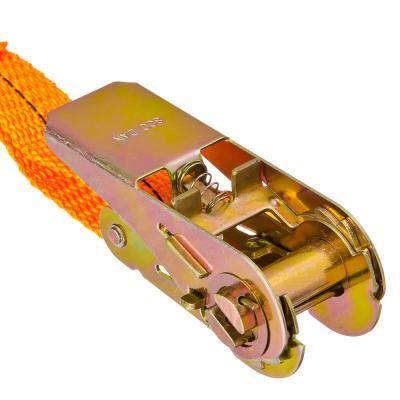746-023 NEW GALAXY Стяжка груза с храповиком 110мм, 3м, шир.ленты 25мм, 500/900кг
