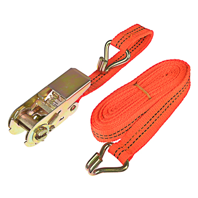 746-024 NEW GALAXY Стяжка груза с храповиком 110мм, 5м, шир.ленты 25мм, 500/900кг