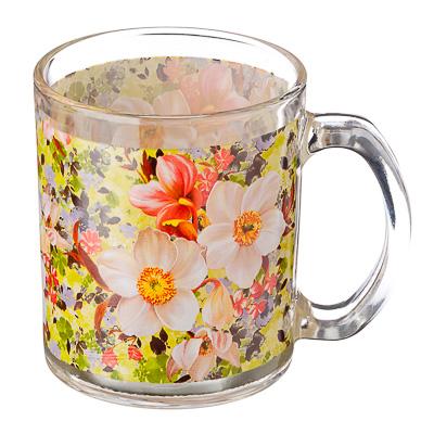 830-447 VETTA Весенний букет Кружка стекло 270мл, S2348-R051
