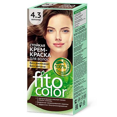 """972-041 Крем-краска стойкая для волос серии """"Fitocolor"""", тон шоколад 115мл, 4824"""