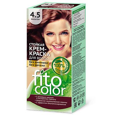 """972-042 Крем-краска стойкая для волос серии """"Fitocolor"""", тон махагон 115мл, 4826"""