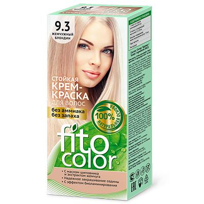 """972-043 Крем-краска стойкая для волос серии """"Fitocolor"""", тон жемчужный блондин 115мл, 4832"""