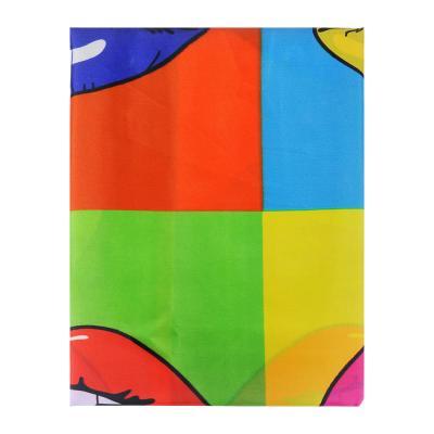 """461-447 VETTA Шторка для ванной, ткань полиэстер с утяжелит, 180x180см, """"Артхаус"""", Дизайн GC"""