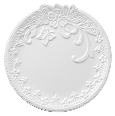 824-783 Бабочка Тарелка d23см, керамика
