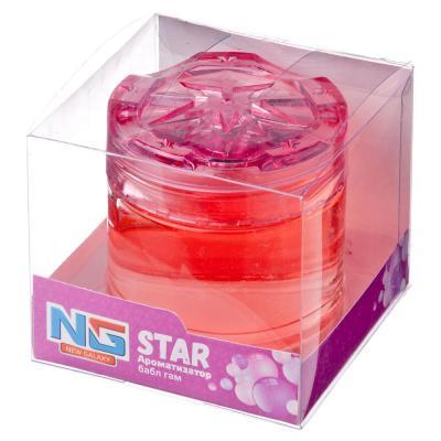 "794-434 Ароматизатор в машину гелевый, аромат бабл гам, ""Star"" NEW GALAXY"