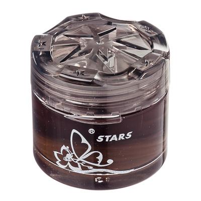 """794-436 Ароматизатор в машину гелевый, аромат черный лед, """"Star"""" NEW GALAXY"""