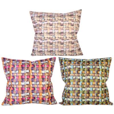 482-555 Декоративная наволочка для подушки, 43х43см