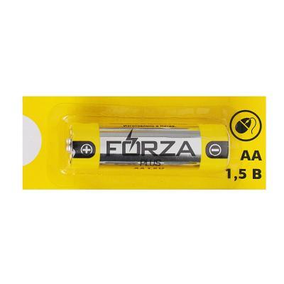 "917-028 FORZA Батарейка 1шт ""Alkaline"" щелочная, тип AA, 1,5В, отрывная цена за 1 шт"