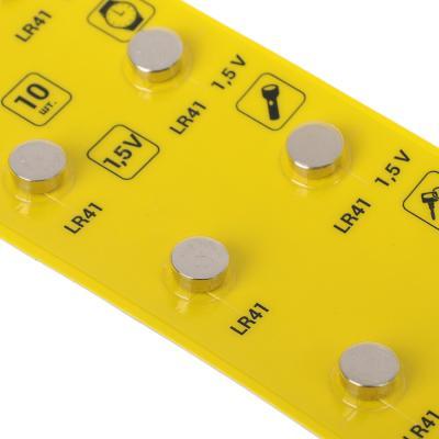 Батарейки 10шт LR41 (G3) щелочная, BL-1